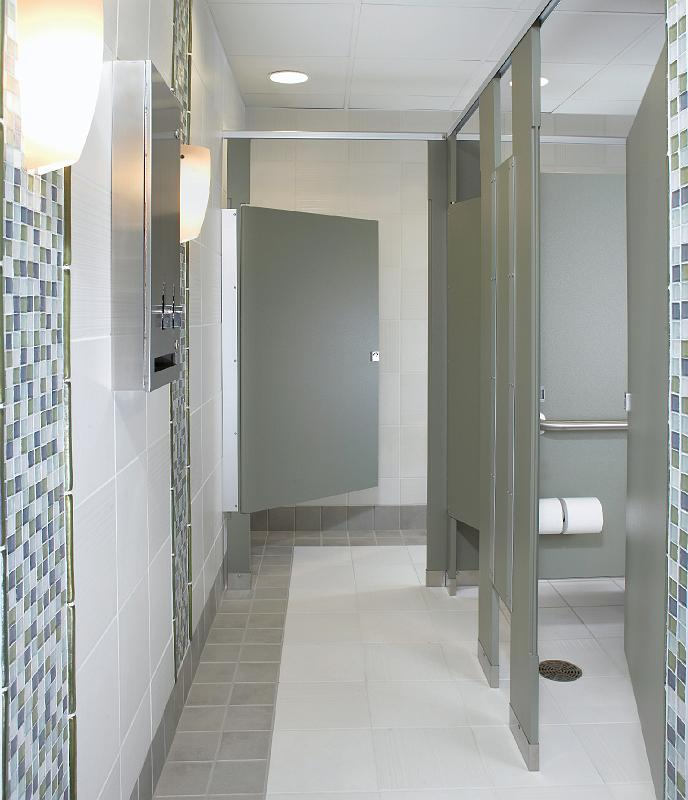 Jps partitions bathroom partitions installations for Bathroom partition accessories